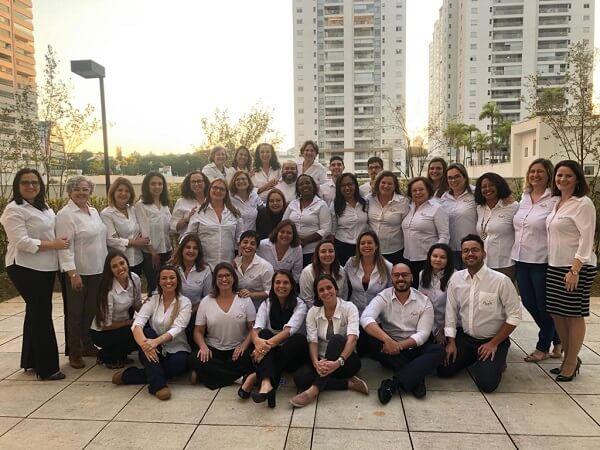 A equipe da Elos no Learning Day de 2019