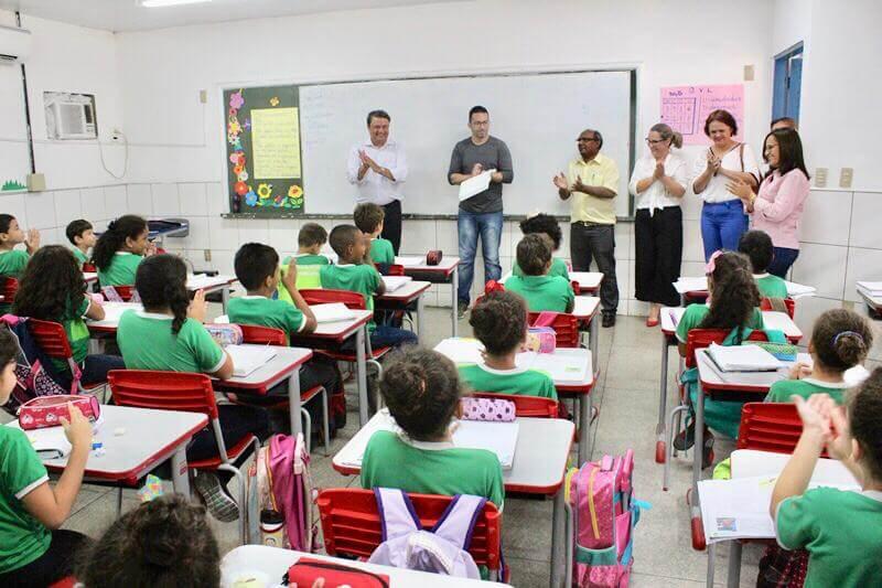 Aprendizagem em Caruaru, Mogi das Cruzes, Recife e Teresina