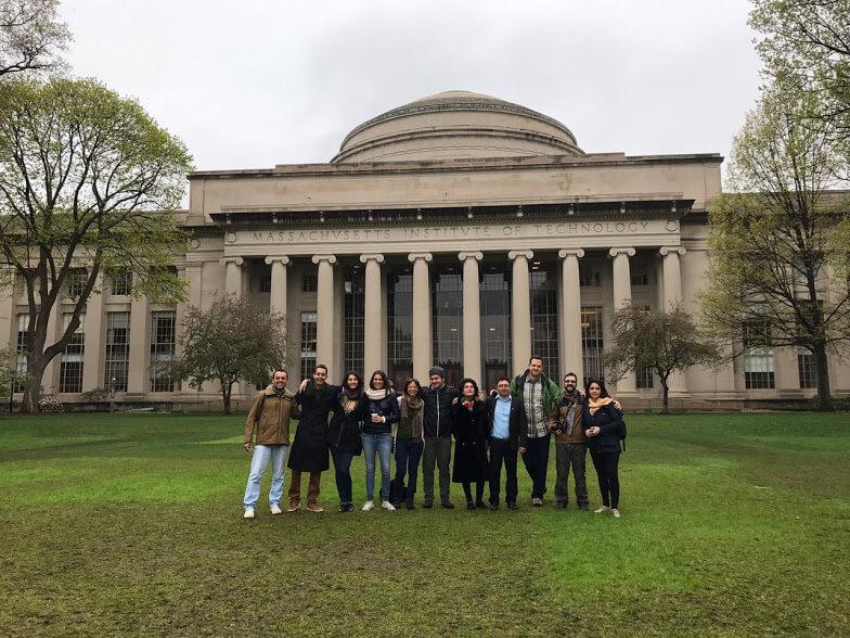 Visita da equipe do Mattics ao MIT: inspiração e apoio para ampliação do projeto