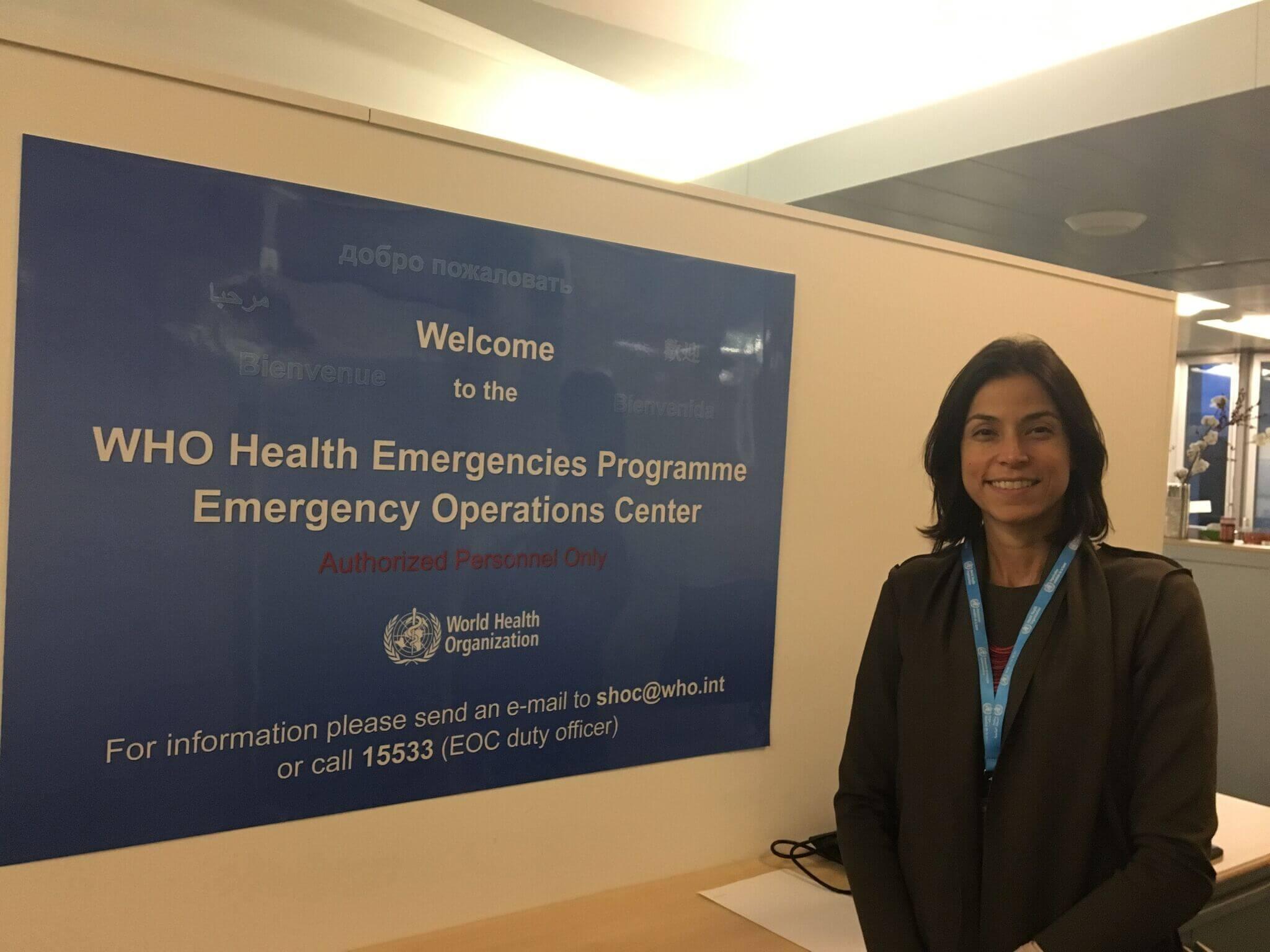 'Quero melhorar a saúde para todos'
