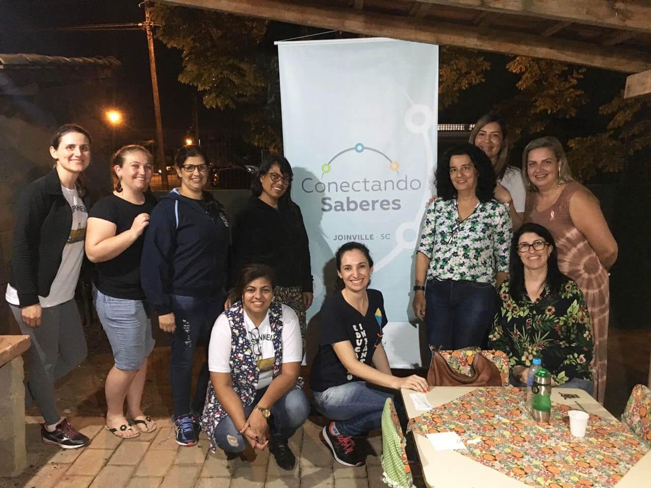 Professores de Joinville compartilham boas práticas