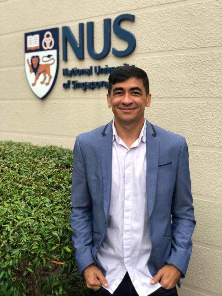 Em Singapura, Raimundo conheceu algumas universidade junto da rede de líderes da Fundação Lemann