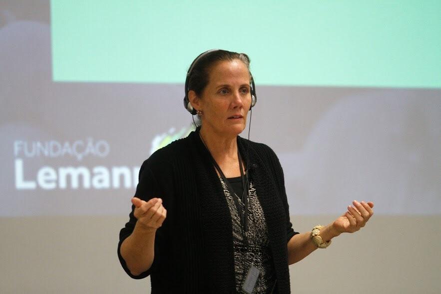 Laura Freebairn-Smith, professora de Yale e facilitadora do Encontro Anual de Líderes 2017
