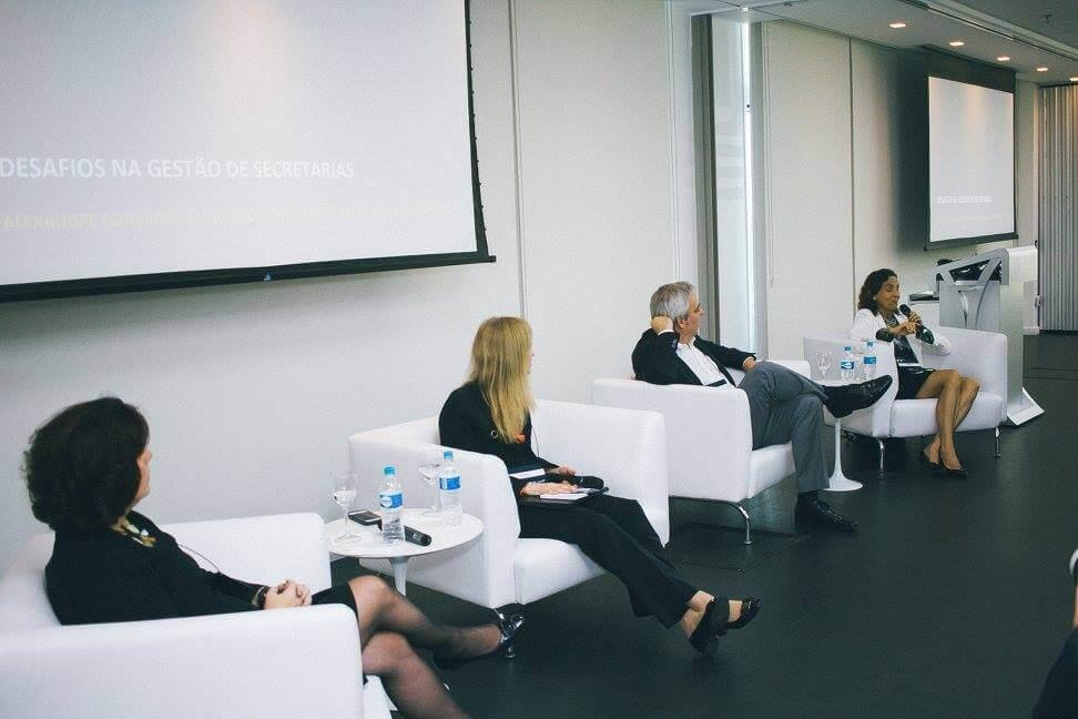 Cleuza Repulho, Claudia Costin, Alexandre Schneider e Izolda Cela