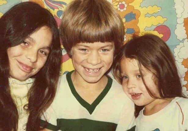 Professora Rutemara e seus irmãos durante a infância
