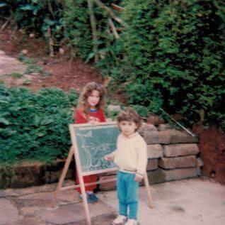 Ernesto durante a infância