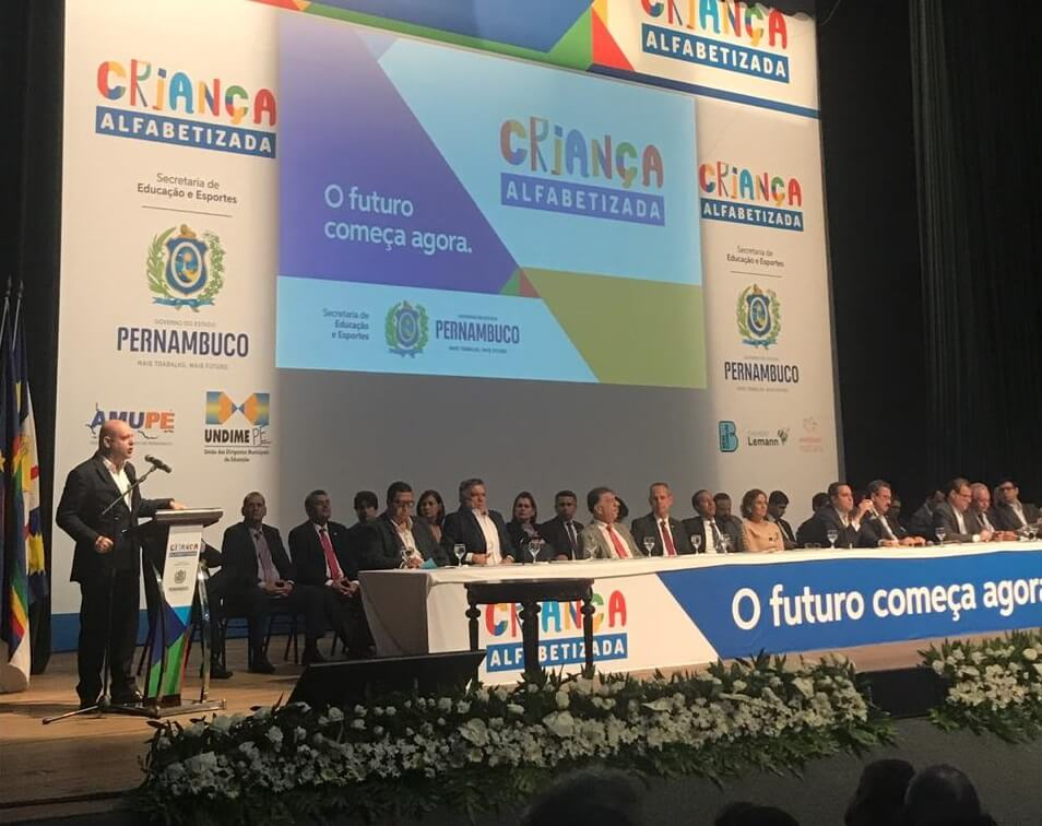 Pernambuco lança programa de Alfabetização