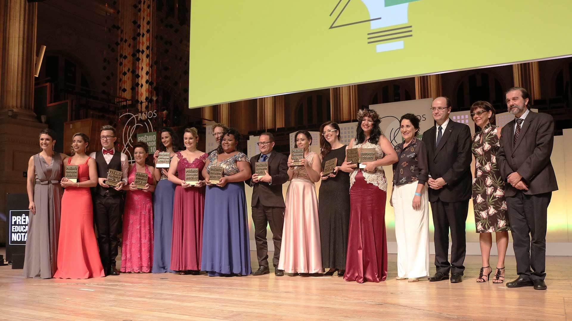 Educador Nota 10 2017: vitória da diversidade