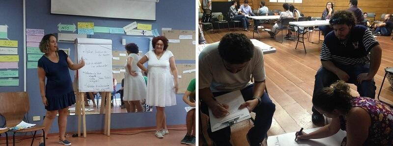 Participando de processos formativos e pedagógicos