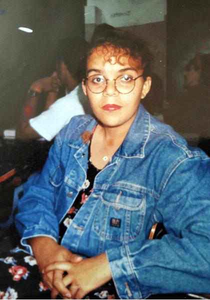 Fabiana Ivo durante o Ensino Médio
