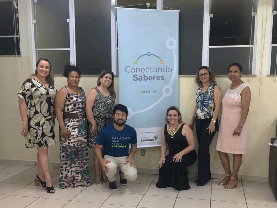 Professores de Assis se apoiam com a Conectando Saberes