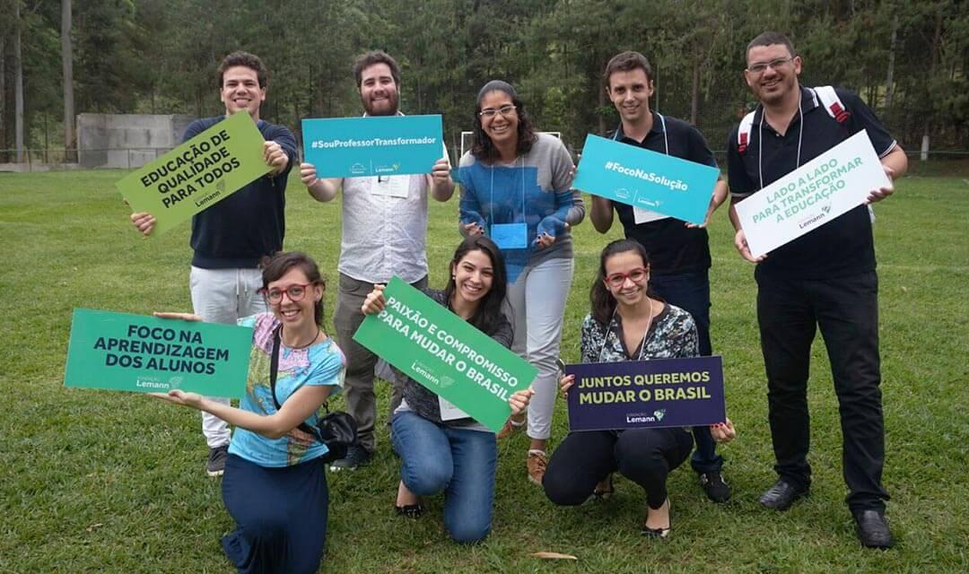 Educadores do Ensina Brasil