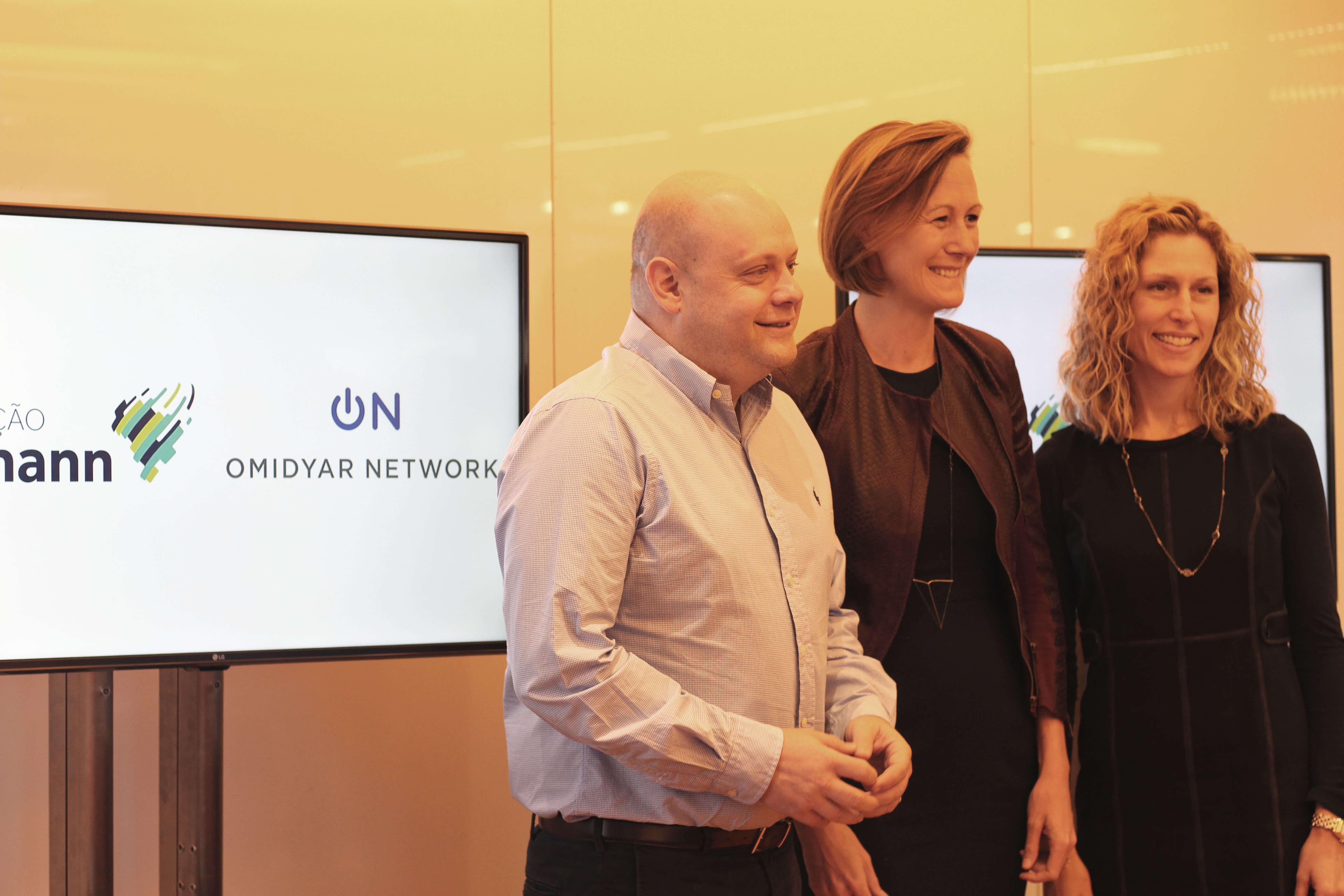 Omidyar Network e Fundação Lemann