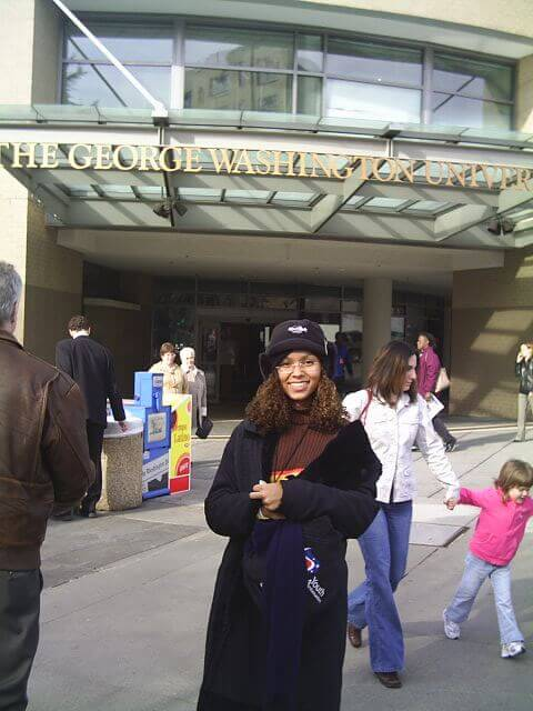 Deborah nos EUA no programa Jovens Embaixadores