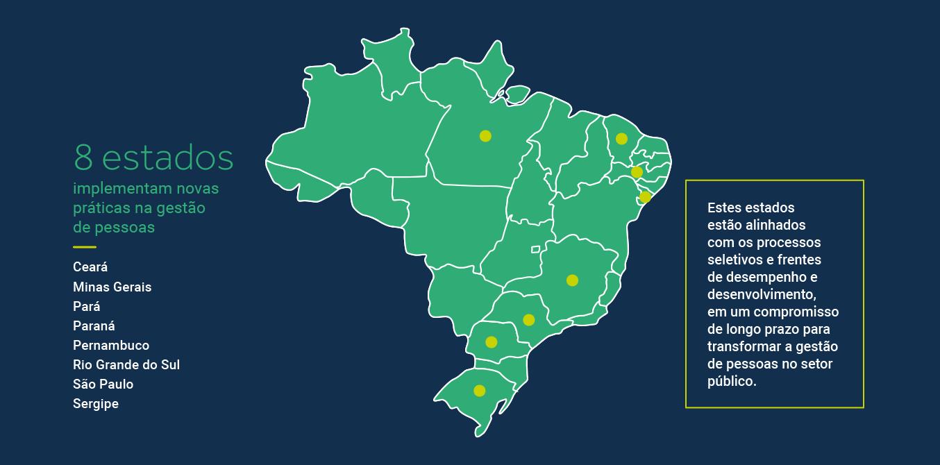 Mapa de Atuação