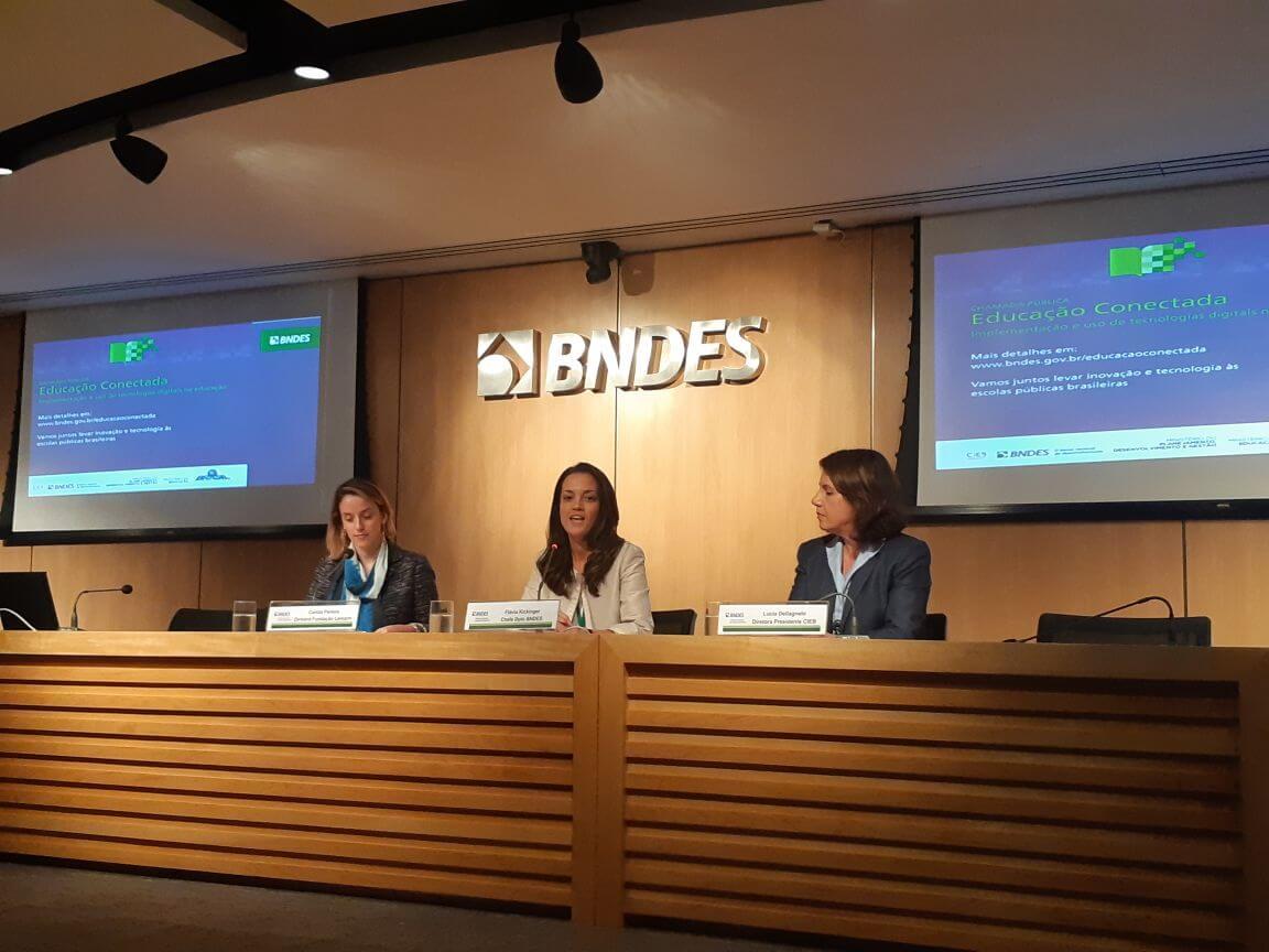 Educação Conectada: BNDES e MEC lançam chamada pública
