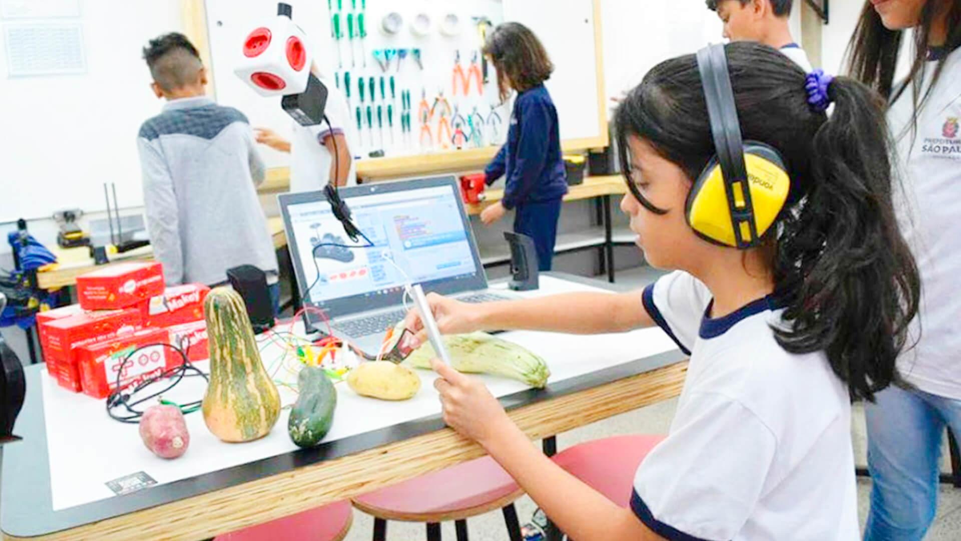 Laboratórios de Educação Digital em São Paulo