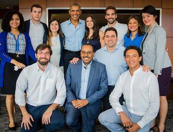 Lemann Fellows com Barack Obama