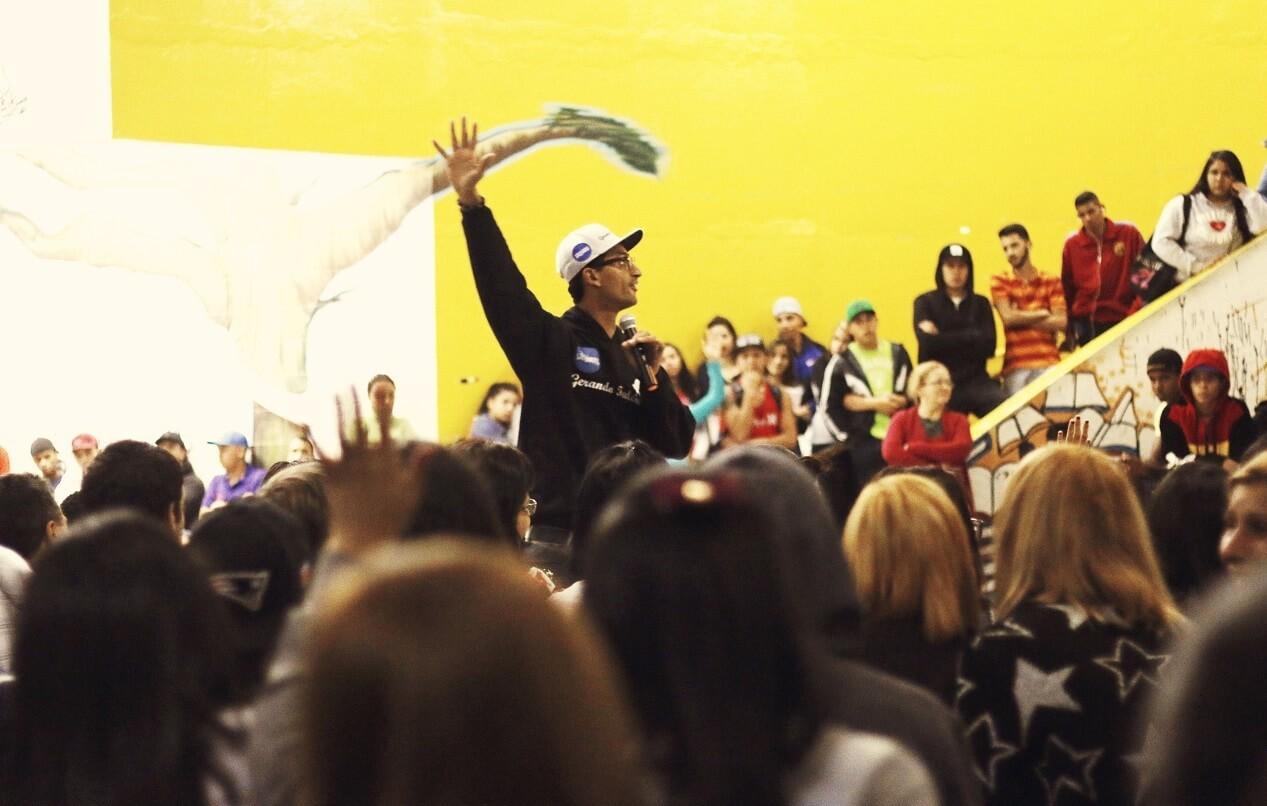 'Meu sonho é que a desigualdade da favela vá parar no museu'