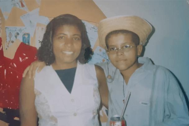 Cosme e sua mãe