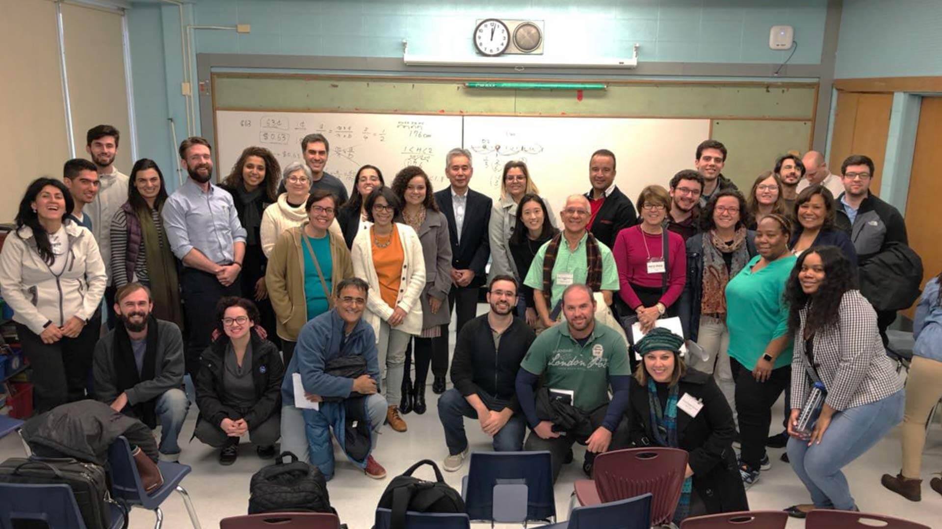 Professores brasileiros estudam Lesson Study em Chicago