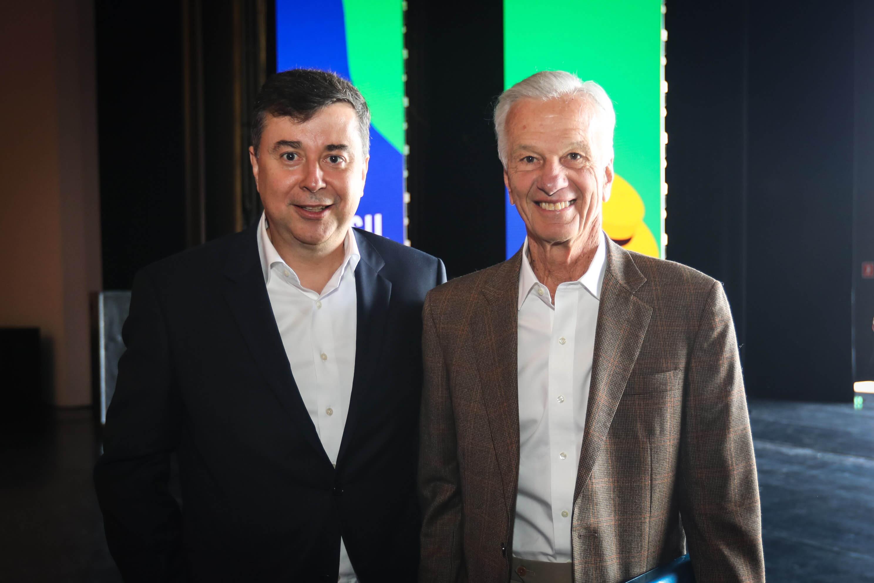 Fabio Coelho e Jorge Lemman