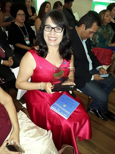 Professora Rutemara foi uma das vencedoras do 10º Prêmio Professores do Brasil