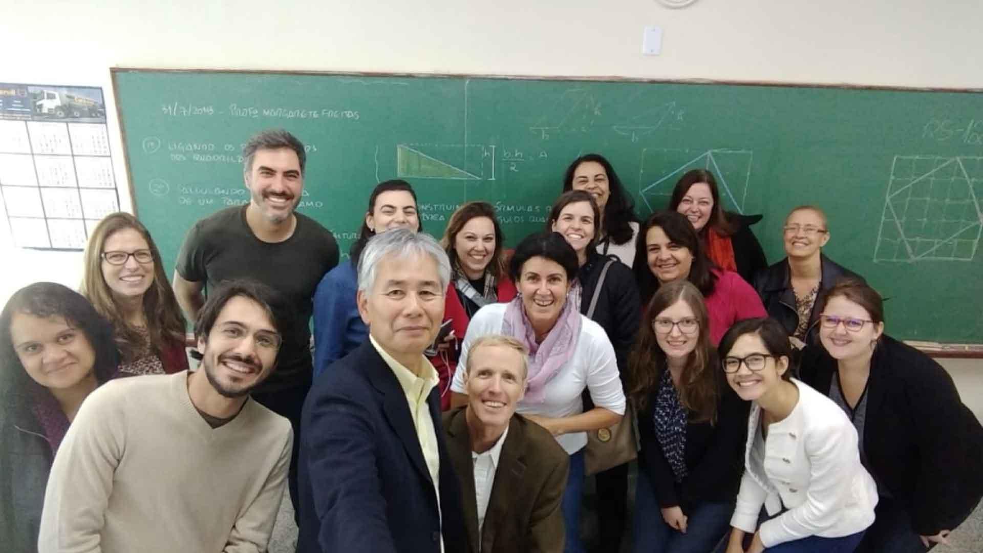 Do Japão ao Brasil: metodologia de estudo de aula