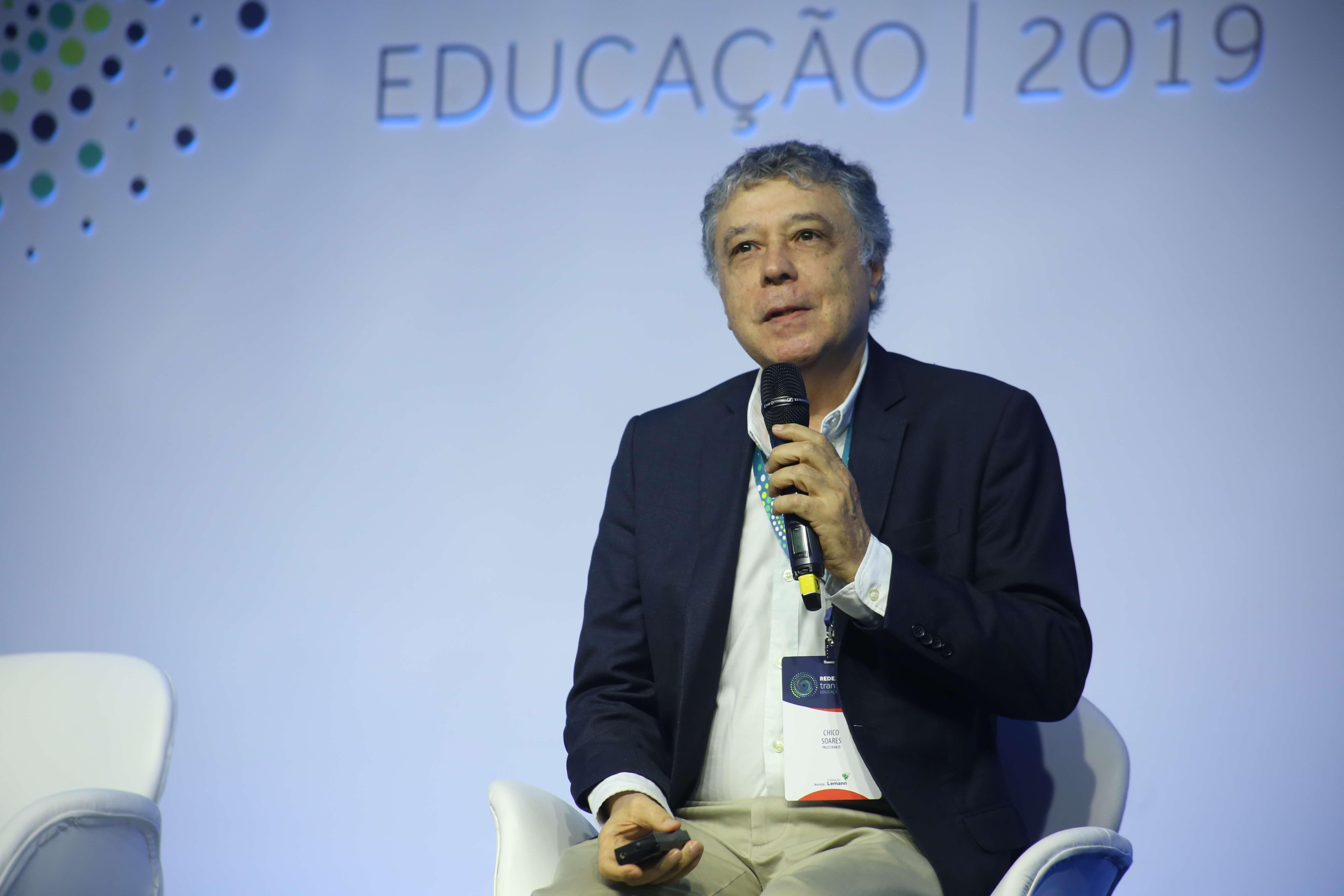Chico Soares, ex-presidente do Inep, durante o evento