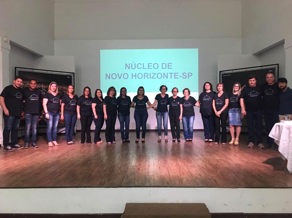 Novo Horizonte faz primeiro evento da Conectando Saberes