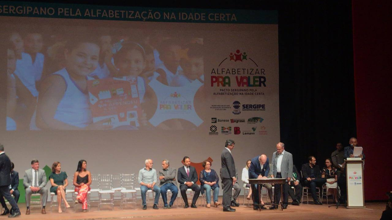 Sergipe lança programa de Alfabetização