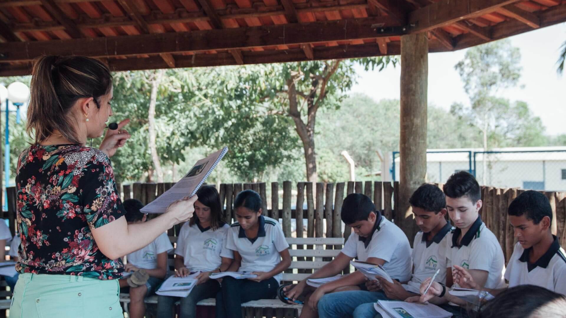 Escola em Novo Horizonte - SP